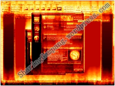 screensaverfire